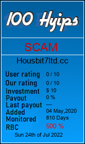 housbit7ltd.cc monitoring by 100hyips.com