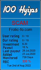 frolic-fo.com monitoring by 100hyips.com