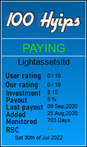 lightassetsltd.com monitoring by 100hyips.com
